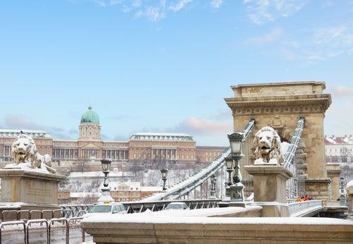 Tiempo en Budapest: invierno