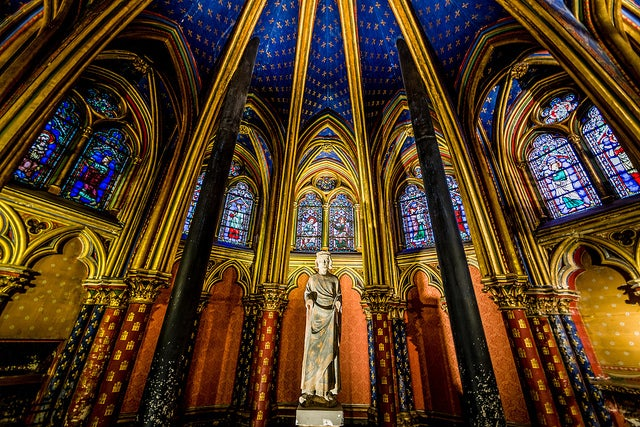 Interior de la Sainte-Chapelle