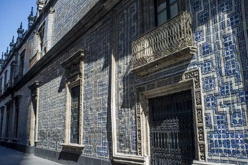 Casa de los Azulejos en México D.F.