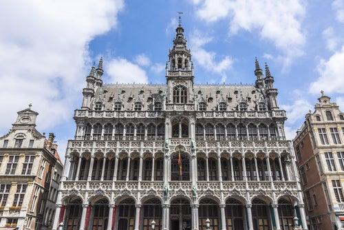 Casa del Rey, uno de los lugares que ver en Bruselas