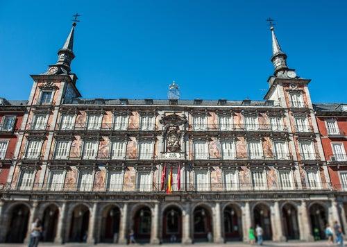 Casa de la Panadería en la Plaza Mayor