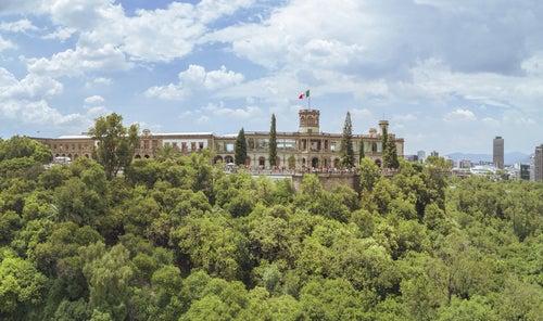 Castillo de Chapultepec en México D.F.