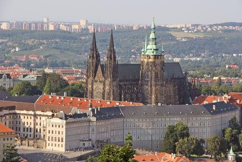 Castillo, uno de los lugares que ver en Praga