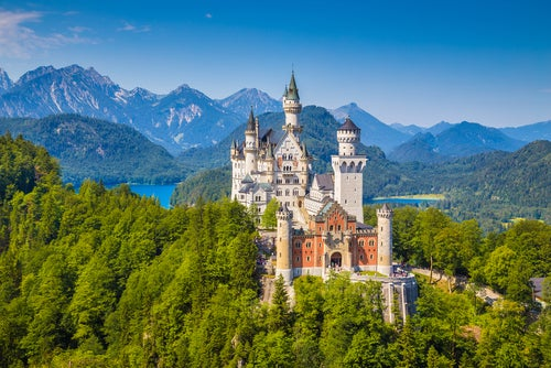 Castillo de Neuschwanstein, una de las cosas que ver en Baviera