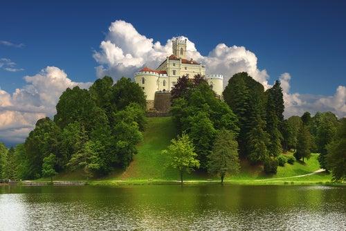 Croacia en fotos, castillo de Trakoskan