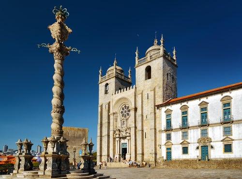 Catedral, uno de los lugares de Oporto que hay que visitar