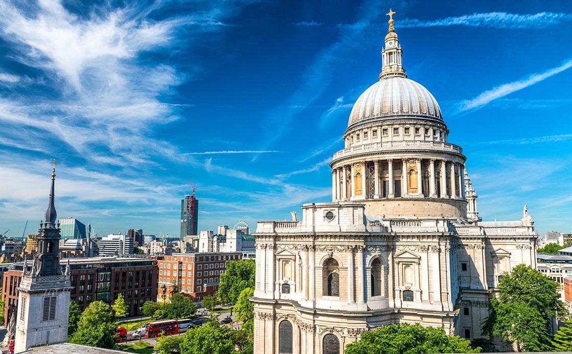 Catedral de St. Paul, uno de los lugares qeu ven en Londres en tres días
