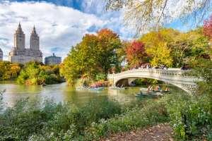 BowBridge en Central Park en Nueva York