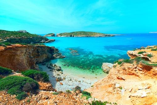 Comino, una de las islas mediterráneas más bonitas