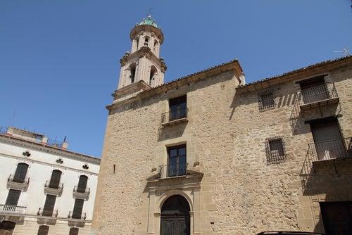 Convento de el Carmen en Rubielos de Mora