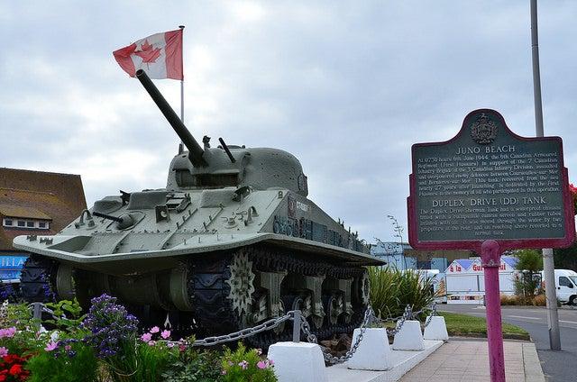 Corseulles-sur-mer en Normandía