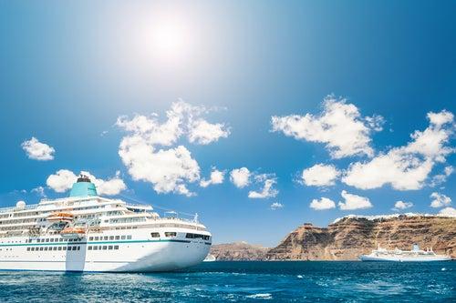 Vista de un crucero