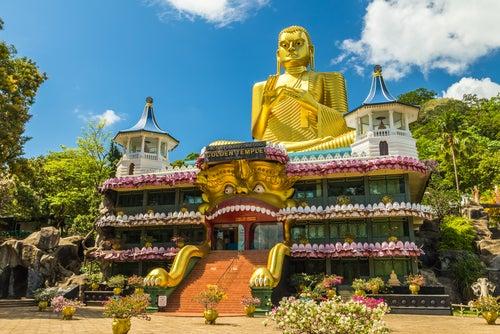 Dambulla, uno de los tesoros de Sri Lanka