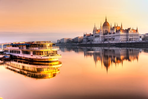 Danubio en Budapest
