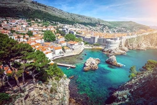 Dubrovnic en Croacia
