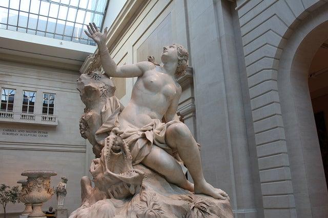 Escultura en el Museo de Arte Metropolitano