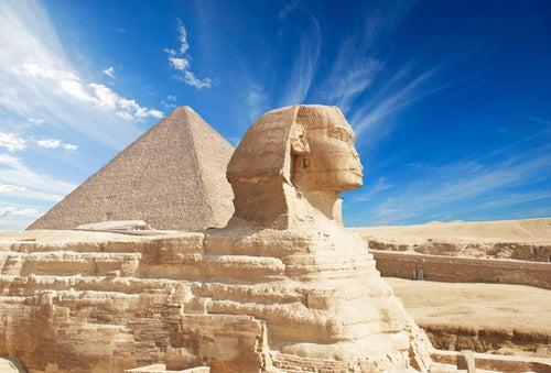 Gran Esfinge en Gizah