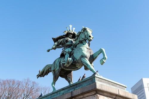 Estatua de Kusunoki Masashige, Tokio
