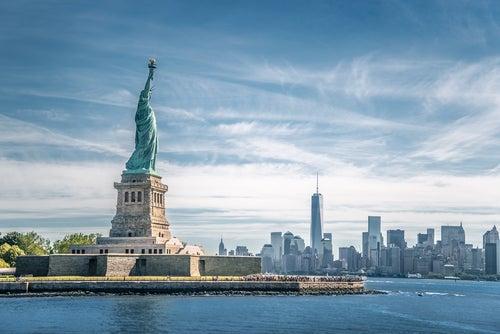 Estatua de la Libertad, uno de los monumentos de Nueva York