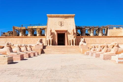Estudios de cine Atlas en Ouarzazate