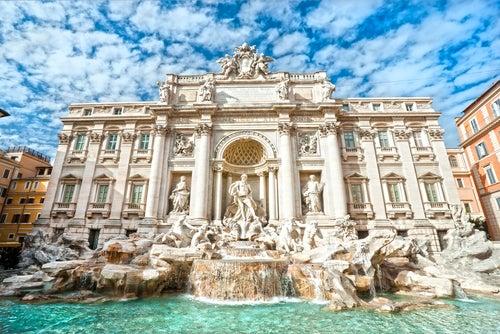 Fontana di Trevi en Roma, la Ciudad Eterna