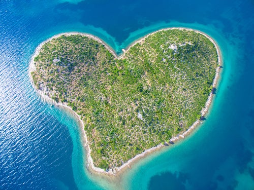 Galensjak, una de las islas mediterráneas más curiosas