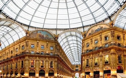 Galería Vittorio Emanuele, uno de los lugares que ver en Milán