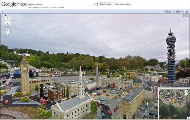 Google maps diciendo cómo ir