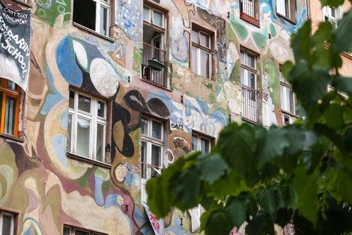 Graffitis en Berlín