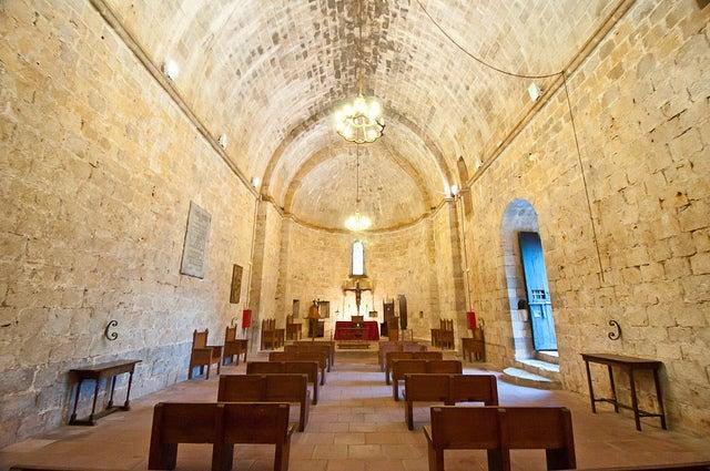 Iglesia del castillo de Peñíscola
