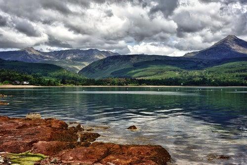 Isla de Arran en Escocia