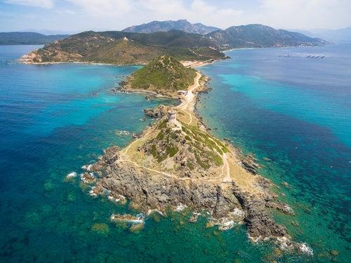 Islas Sanguinarias en Córcega