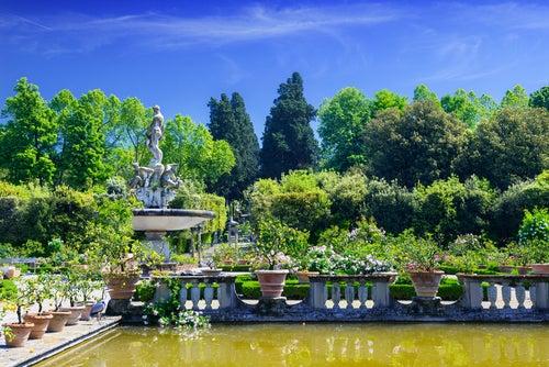 JArdines de Boboli en Florencia