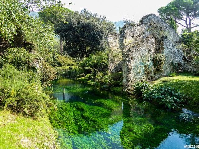 Jardines de Ninfa uno de los rincones italianos más románticos