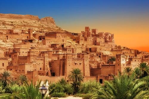 Kasbah Ait Ben Haddou cerca de Ouarzazate
