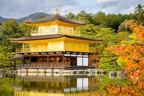 Templo Kinkaku-ji en Kioto