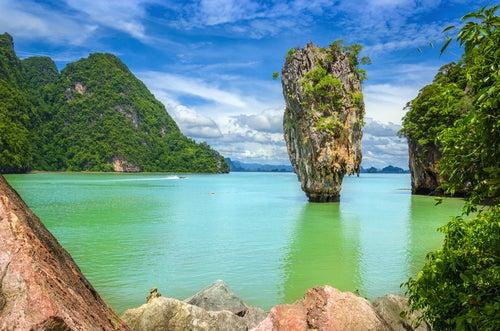 Playa de Tailandia en Asia