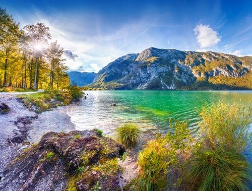 Lago Bohing, uno de los sitios que ver en Eslovenia