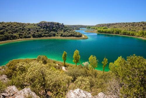 Laguna Conceja en el PArque Natural de las Lagunas de Ruidera