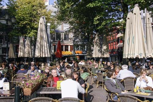 Leidseplein, lugar que ver en un viaje a Ámsterdam