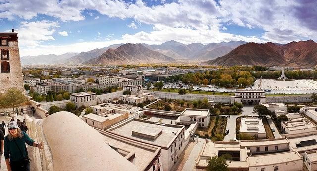 Lhasa en el Tíbet