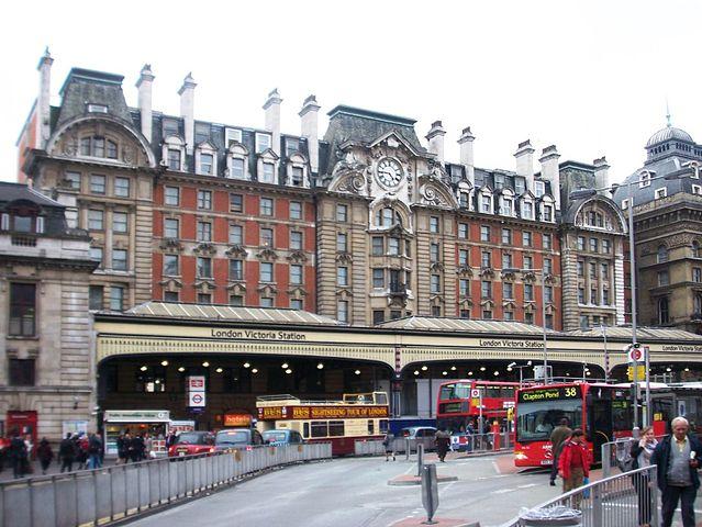 Estación Victoria de Londres