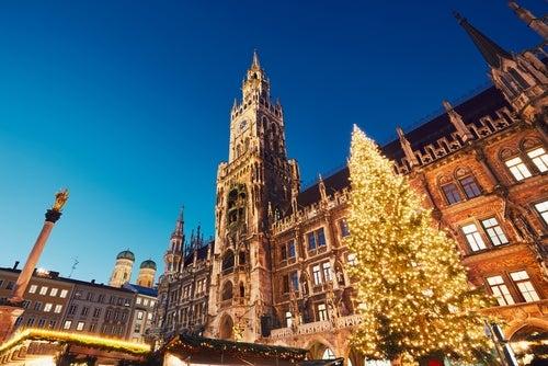 Navidad en Marienplatz