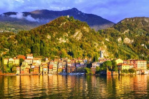 Menaggio en el lago di Como