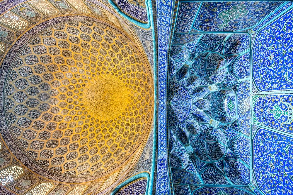 Techos de la Mezquita Sheikh Lotfollah
