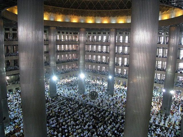 Istiqlal Mosque en Yakarta