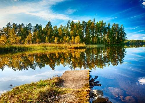 Región de los Mil Lagos en Finlandia