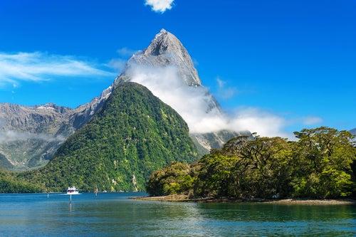 Mitre Peak en Nueva Zelanda