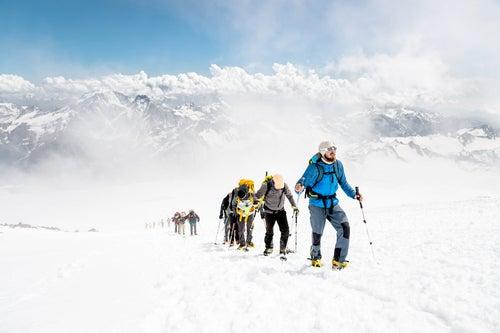 Montañeros sin mal de altura