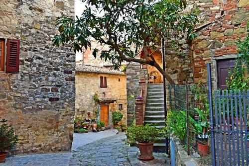 Montefioralle, uno delos rincones de la Toscana más bonitos